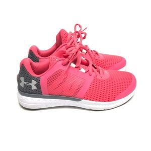 Under Armour Tennis Shoes Coral 8.5